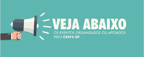 Eventos organizados ou apoiados pelo CREF4/SP